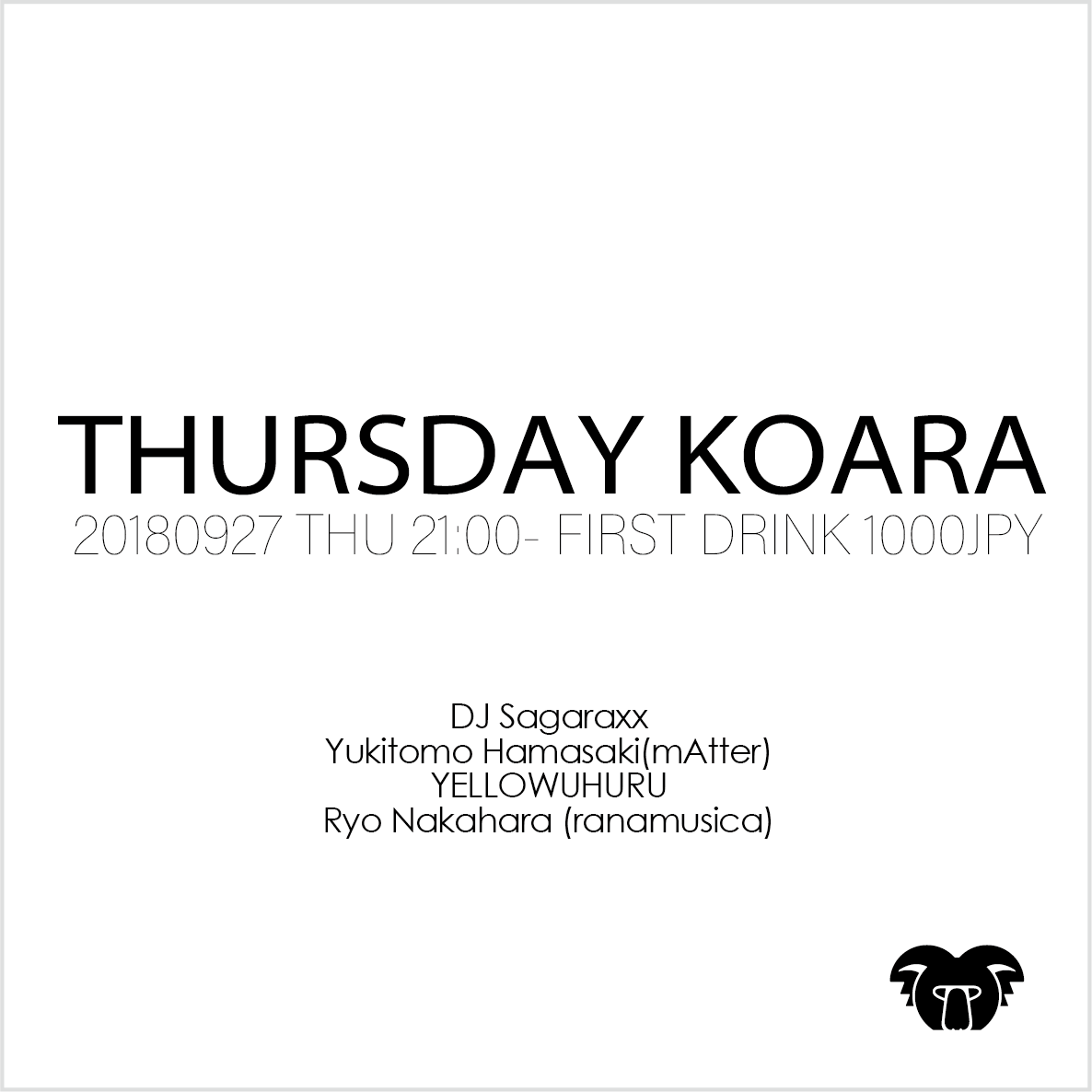 KOARA THURSDAY