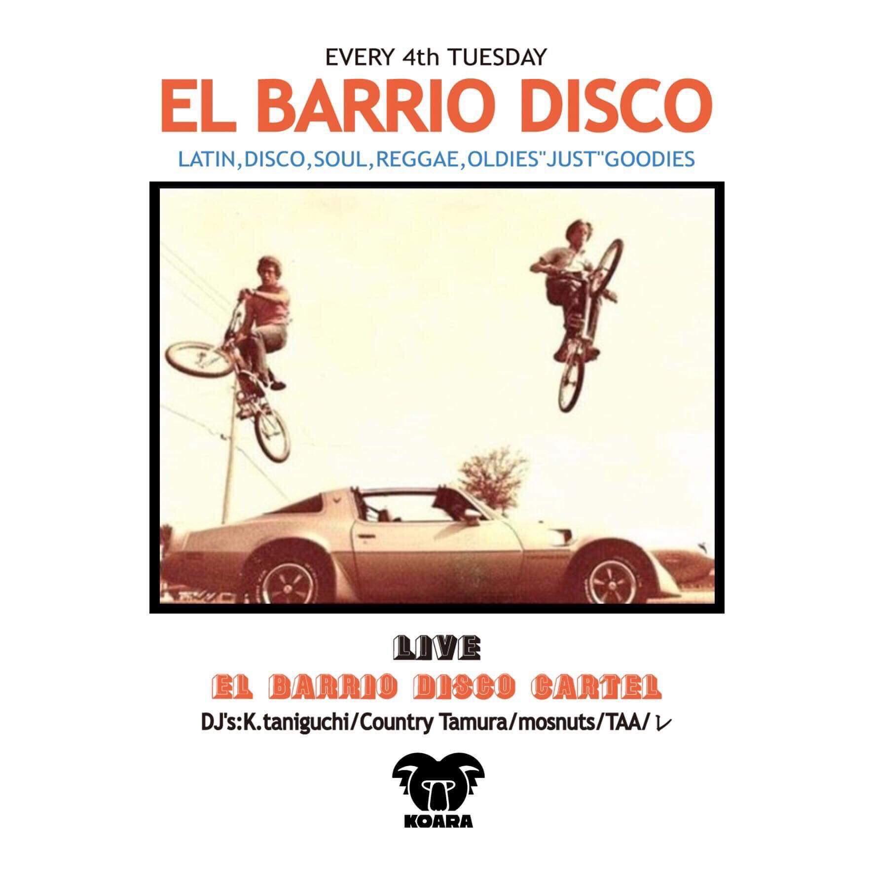 EL BARRIO DISC STORE presents