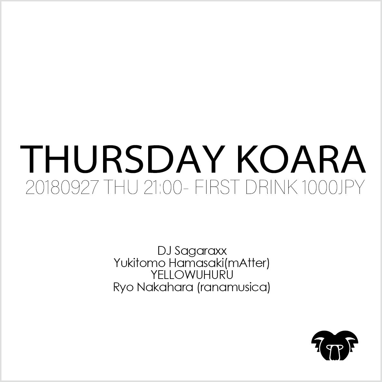 KOARA THURSDAY