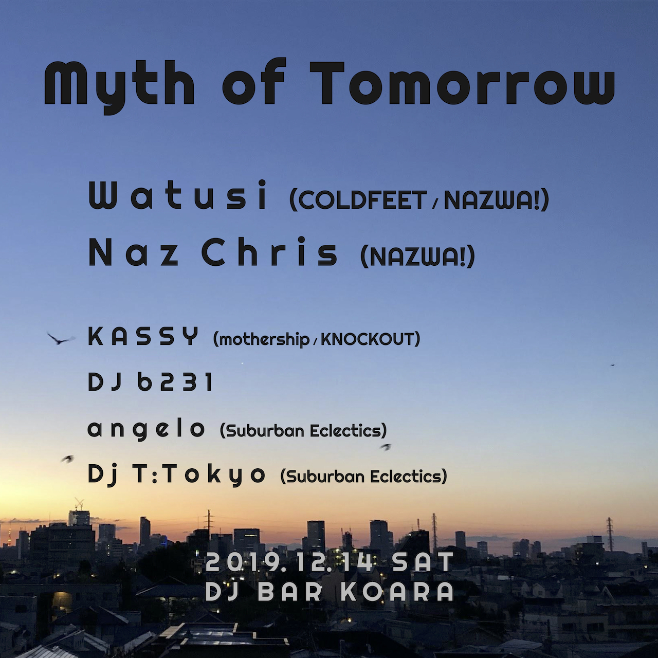 MYTH OF TOMORROW